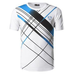 Jeansian Мужская футболка T-Shirt Tee Shirt Sport Dry Fit с коротким рукавом Бег Фитнес тренировки LSL229 black2 MX200611