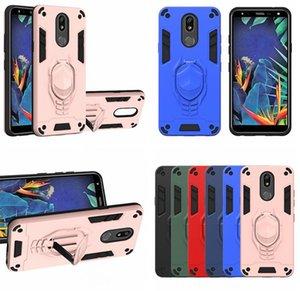 Iron Man Armor Stand Case For LG V60 ThinQ 5G K31 K51 K40 K30 2019 G8X MOTO G8 PLUS Play P40 Hard Hybrid Shockproof Phone Back Cover
