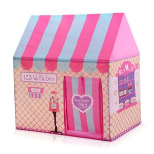 Play Tent Toy Cotton-Sized Kid's Dollhouse Baby Indoor Princess Play Room Colorful House Game Tent