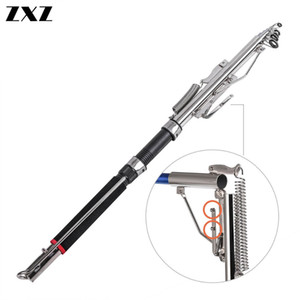 Telescopic Automatic Fishing Rod Sea River Lake Pool Spinning Rod Holder Carp Fly Fishing Pole Jigging with Steel Hardware Peche