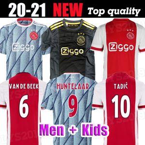 20 21 Ajax Soccer Jerseys TADIC PROMES 2020 VAN DE BEEK HUNTELAAR Football Shirt ALVAREZ Ajax Jersey