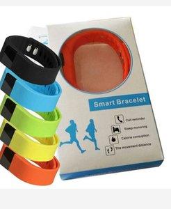 Actividad bandas de muñeca Fibit TW64 inteligente pulsera pulsera de deporte barato rastreador de ejercicios Bluetooth 4.0 Fitbit Flex reloj para iOS Android