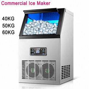 Hot Ice Making Machine commerciale Ice Cube Maker automatico, della famiglia Cube fa macchina per bar, caffetteria, sala latte O0y0 #