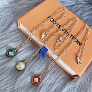 2020 style agate necklace from Europe and America designer jewelry women necklace