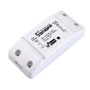 SONOFF 기본 무선 와이파이 스위치 원격 제어 자동화 모듈 DIY 타이머 범용 스마트 홈 10A 220V AC 90-250V