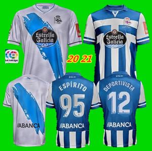 20 21 Deportivo Deportivo La Coruna ev deplasman forması 2020 2021 Coruna Rob Peel Exposito Diego Rolan CARTABIA futbol forması SANTOS