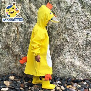 raincoat de garçons filles et jardin d'enfants Cape manteau imperméable dessin animé poncho enfants et les enfants l'école primaire