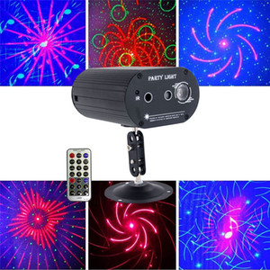 Laser Lighting Led Sound Actived 7 Colors Disco Light Strobe RGB Ball Effect Projector Lighting with Remote for Bar Club Parties DJ
