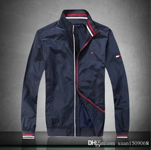 Men's new spring fall 2019 jacket casual trend short baseball jacket stand-up collar men's coat