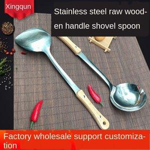 cOnFT Gourd original Holzkochlöffel Messer Messergriff Haushalts Spachtel Set Küche liefert Edelstahl Spachtel Suppe spo Kochen