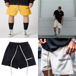 Fashion Loose Male Shorts Summer Casual Pants Essentials Mens Printed Cropped Overalls Designer Pocket#343