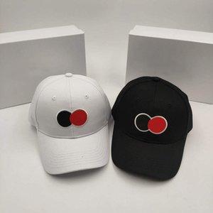 20SS Nova PAC Streetwear Círculo bordado Boné de beisebol High Street Casual Moda homens mulheres casal de alta qualidade Verão Hat HFXHMZ019