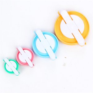 4 Sizes Pompon Maker Suit Plastic Round Shapes Pom Pom Makers DIY Hand Woven Ball Fit Sewing Accessories 5 5yz E1