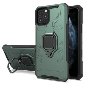 For Iphone 11 Pro Max 8 7 6 Plus X XS MAX XR Guard Kickstand 360 Degrees Ring Case Shockproof Phone Cover