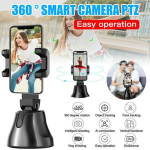 360 ° Intelligent Objektverfolgung Halter Follow-up-PTZ-Smart-Tracking-Gimbal Bluetooth Panorama Tracking schneller DHL Versand