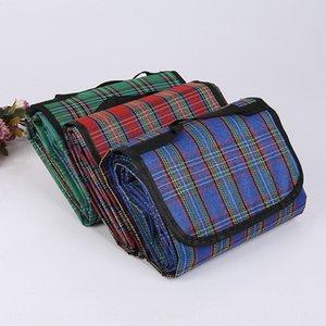 Оксфорд ткань влагостойкие пикник ткань Оксфорд Meal еда матовый полиэстер влагостойкие водонепроницаемое покрытие коврик для пикника