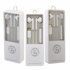 Type c Earphone Bluetooth Inner Earphones Mic Volume Control headphone earbuds for smart phone