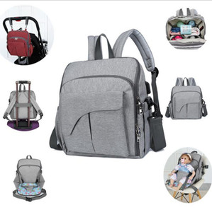 USB Baby Bag Multi 15pcs DW4795 With Function Port Dining Diaper Chair Backpack Travel Nappy Bags Stroller Organizer Seat Hand Svcjh