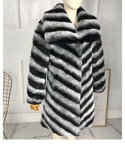 arlenesain v линия рекс мех мягкий теплый мех средней длины пальто женщин с большим классическим воротником