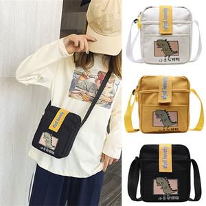 Women Pure Color Casual Tote Outdoor Bag Canvas Handbag Zipper Shoulder Bag