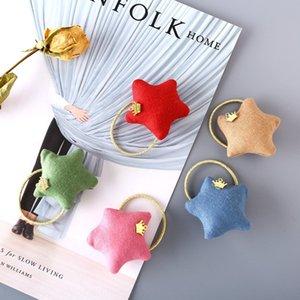 New Korean style fashion three-dimensional fabric star band Headdress headdress hair band headwear for children hair accessories