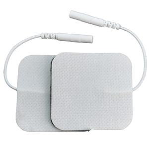 Großhandel Self Adhesive Ersatz Tens Elektroden-Auflagen-Platz 5 * 5 cm Muskelstimulator elektrisches Digital-Gerät Massagegerät