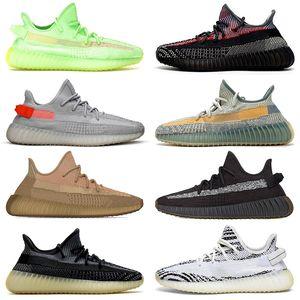 2020 Kanye boost Schuhe size us 13 Static Laufschuhe New Womens Herren Trainer Asriel Eliada Israfil Cinder Rücklicht Zebra Kids Kinder Sport Turnschuhe Baby Kinderschuhe