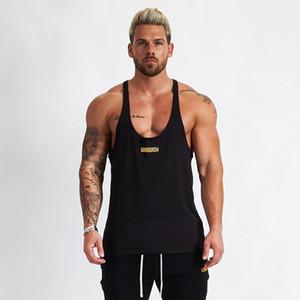 Erkekler Tank Top Erkekler Stringer Tank Top Spor Atlet Kolsuz Gömlek Egzersiz Man Atlet Giyim