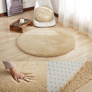 Large Soft Shaggy Round Carpet for Living Room Warm Lamb Cashmere Floor Rugs Fluffy Mats Kids Room Area Rug Thick Velvet Mats