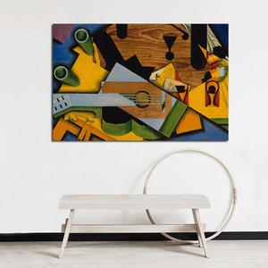 Canvas Modular Juan Gris Poster Home Decor Cubismo Paintings HD resumo impresso Artwork Recados Pictures Vintage Quadro Sala