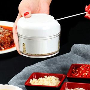 Çok fonksiyonlu Gıda Chopper Sarımsak Kesici Sebze Kesme Makinesi Speedy Chopper Araçları Manuel Mini Et Kıyma Mutfak Aracı DHL