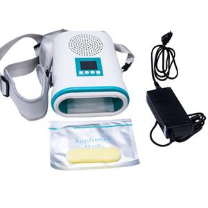Congelador congelación de grasa corporal-Sculpting System Professional Freeze Shaping quemador de grasa de la máquina con la máscara de la correa anticongelante y Shaping Gel