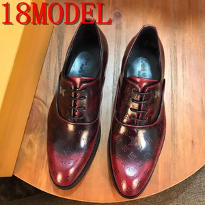 Groom Shoes Men Dress Shoes Loafers Men Wedding Shoes Men Formal Coiffeur luxurious Italian Brands Chaussure Homme Tenis Masculino SIZE38-45