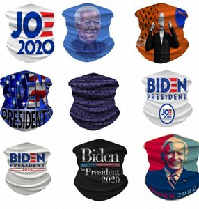 3d Biden President Magic 2020 Scarf Digital Printed Women Men Casual Mask Outdoor Cycling Riding Neck Magic Turban Adult Face Masks D61604