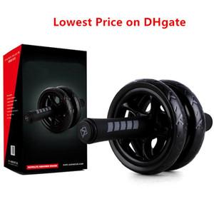 Prix le plus bas sur DHgate Ab Rouleaux abdominale exercices abdominaux Rouleaux exerciseur Fitness Workout Gym Grand Belly Core Trainer FY625