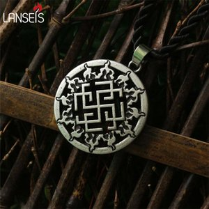 1pcs BIG Svarog slavic pendant Ancient Slavic Amulet symbol norse talisman pendant jewelry Germanic men necklace