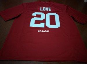 ÖZEL Stanford Cardinal # 20 Bryce Aşk Koleji Futbol Jersey S-4XLor özel herhangi bir ad veya numara forması