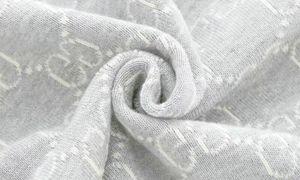 Brief Baumwolle Blanket Imitation weicher Wolle-Schal-Schal Designer Brief Schlafsofa Fleece Strick Werfen Klimaanlage Decke verdickte