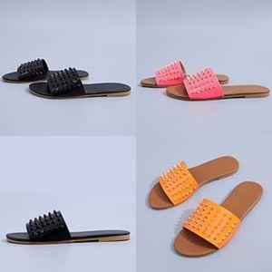 Marke Männer Frauen Slippers Gg Soes Sommer weiche Schuhe Fasion Male Wasser Dener Slides Außenflach Männer Sandalen Beac Soe # 184 # 455