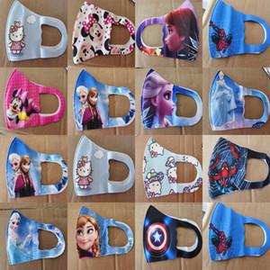 Máscaras de caracteres meninas amante Miúdos dos desenhos animados da máscara protectora dos desenhos animados Máscara estiramento For Kids meninas amante mais recente estilos casuais Discount primavera austrália