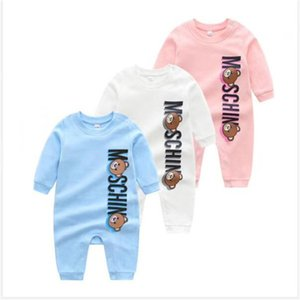 best Sell Newborn Baby Boys Girls Rompers 100% Cotton Long Sleeve Clothes Cartoon Infant Jumpsuits Casual Kids Baby Outfits