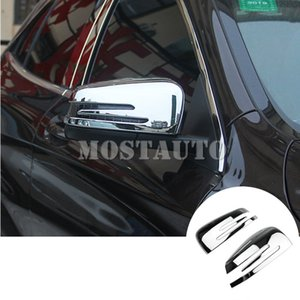 For Benz A-Class W176 B-Class W246 ABS Side Rearview Mirror Frame Trim Cover 2012-2018 2pcs