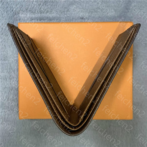 رجل زم محفظة متعدد الألوان عملة بطاقة محفظة حامل محافظ جيب رشيق باريس منقوشة نمط رجل محافظ جلد طبيعي مع صندوق الغبار حقيبة KG