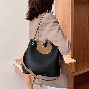 FGGS-Fashion Большого объема ковш сумки женщины просто дикое плечо сумка