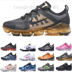 Newest Air cushion Brand new shoes man 2020 sports sneakers Canyon Gold Aluminum Blue women black red white mens trainers running shoe TTP09