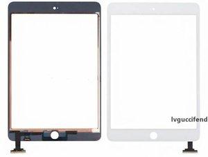 Para Mini iPad 1 2 pantalla táctil de cristal digitalizador Asamblea con IC con botón del hogar del pegamento adhesivo calcomanía de reemplazo de Reparación Mini 50