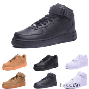 fly high quality Classical men women Unisex low Casual shoes mens womens one 1 White star platform Sandals shoes JNH9K