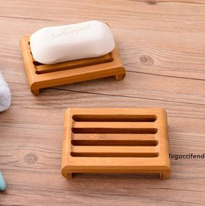 Wooden Soap Boxes Bamboo Soap Holder Japanese Style Manual Soap Tray