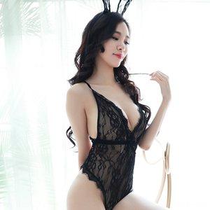 Лидирующее кружево лук перспективы Suspender юбки стропы белья сексуального нижнего белья сексуального спинку пижама SUSPENDER платья