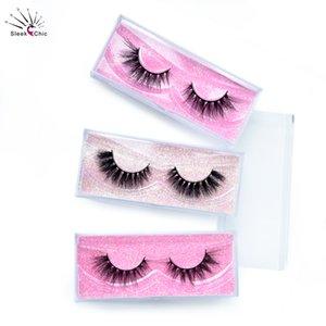Mink Lashes 20 30 40 50 Pairs Eyelashes Mink Wholesale 3D Eyelashes Package Bulk Cruelty Free Dramatic False Eyelash Vendors